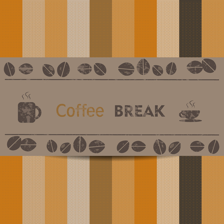 break: coffee break