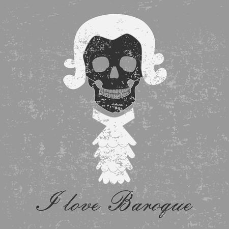 baroque: Baroque skull