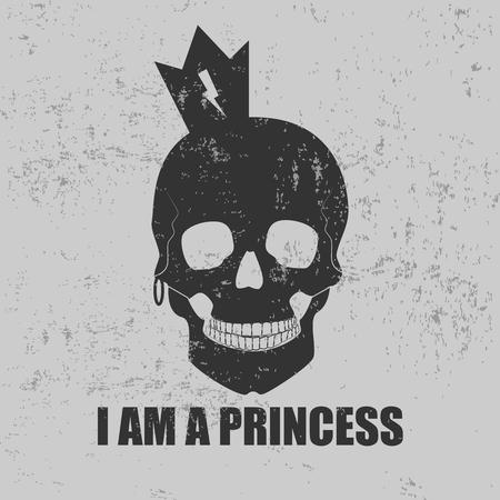 I am a princess Illustration