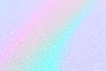 Pastel rainbow defocused background. Place for text.