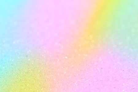 Pastel rainbow defocused background. Abstract blur celebration concept.