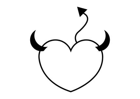 Heart with wings and halo. Could interpret as angel heart or good heart.