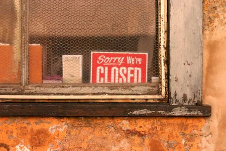 were: Sorry Were Closed