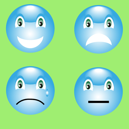 resentment: 4 smiley: smile, anger, resentment, thinking