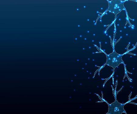 neuron illustration Illustration
