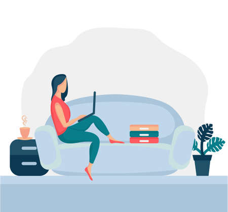 Girl sitting in armchair 6