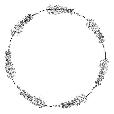 snapdragon frame border illustration