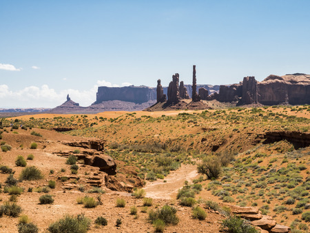 Three Sisters, Monument Valley - Arizona, AZ, USA