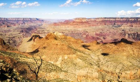 Grand Canyon South Rim, Desert View Point - Arizona, United States Stock Photo