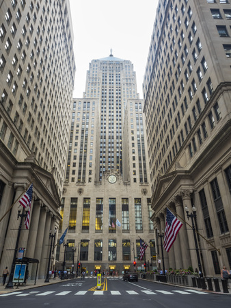 Chicago Board of Trade - Donderdag 3 augustus 2017 - Chicago, Illinois, VS. Redactioneel