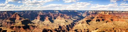 Panorama: Mathew View Point - Grand Canyon, South Rim, Arizona, AZ, USA
