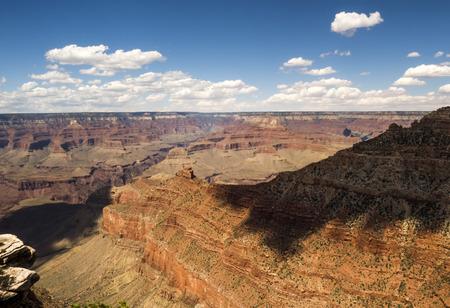 The Skeleton from the Grand View Point - Grand Canyon, South Rim, Arizona, AZ, USA