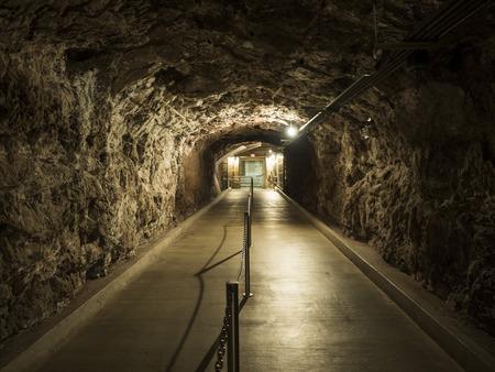 Hoover Dam plant, underground tunnel - Arizona, AZ, USA