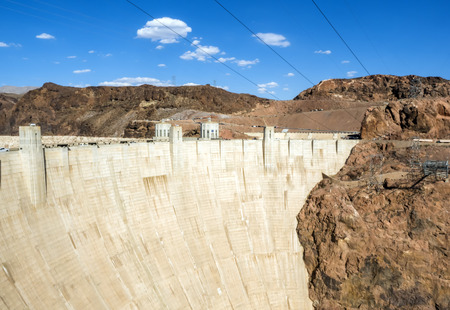 Hoover Dam - Arizona, AZ, USA Stock Photo