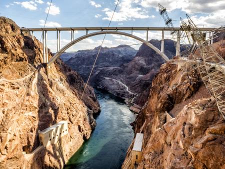 Hoover Dam bridge - Arizona, AZ, USA