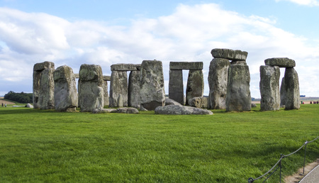 Stonehenge prehistoric monument in Wiltshire, Salisbury, England, UK Stock Photo
