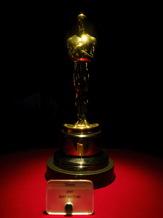 Titanic Oscar for Best Picture 1997 at Paramount Pictures Hollywood Tour on the 14th August, 2017 - Los Angeles, LA, California, CA, USA