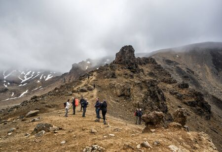 December 3rd, 2018: Tongariro Alpine Crossing one-day hike - New Zealand, North Island, NZ
