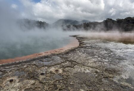 Waiotapu Thermal Wonderland Champagne Pool - New Zealand