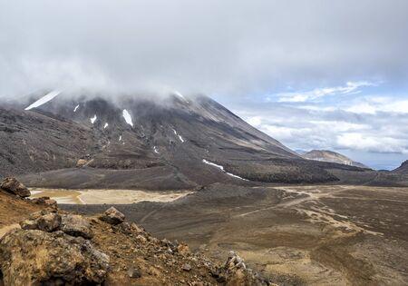 Tongariro Alpine Crossing one-day hike - New Zealand, NZ Stockfoto