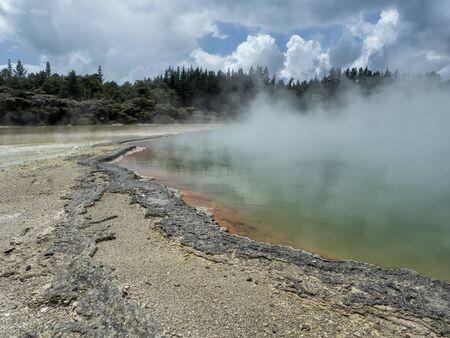 Waiotapu Thermal Wonderland Champagne Pool - New Zealand