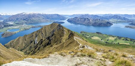 Roys Peak Track, Wanaka, New Zealand, South Island, NZ