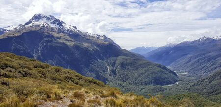 Key Summit, Routeburn Track, Milford National Park, New Zealand, South Island, NZ