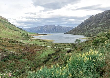 Lake Hawea, New Zealand, South Island, NZ