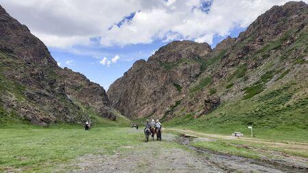 Yol Valley at the Gobi Desert, Mongolia