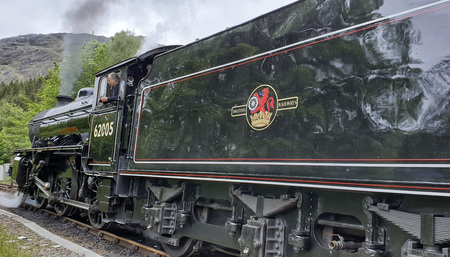 May 24th, 2019: Jacobite Train at the Glenfinnan Station - Scotland, UK
