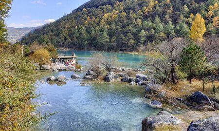 Blue Moon Valley at Jade Dragon Snow Mountain, Yunnan Province, China