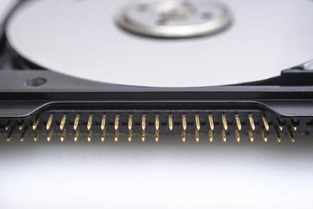 hard disk: Hard disk connector