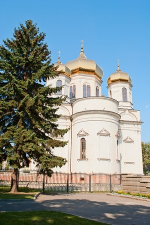 beautiful Orthodox church Stock Photo
