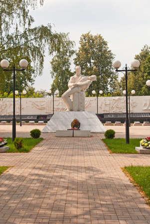 Memorial eternal glory in Kozelsk Stock Photo - 14668186
