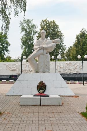 Memorial eternal glory in Kozelsk Stock Photo - 14668215