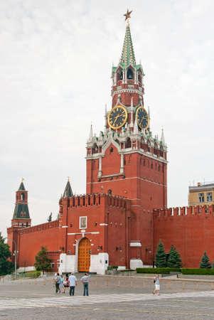 spasskaya: Spasskaya Tower of the Kremlin Editorial