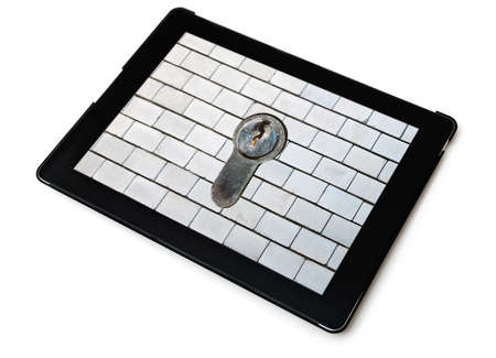 Concept of computer security Stock Photo - 17356671