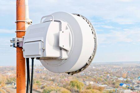 Antenna radio relay station of cellular communication