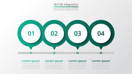 Abstract infographic milestones template with 4 steps for success. Business slide with four options for brochure, diagram, workflow, timeline, web design.