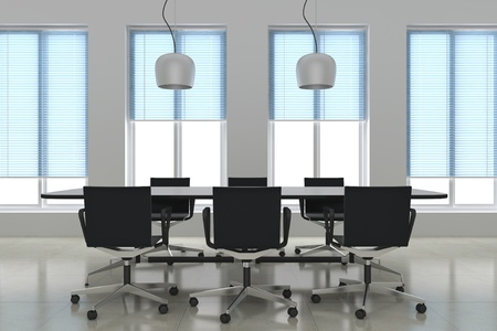 3d render modern meeting room Stock Photo - 11853029