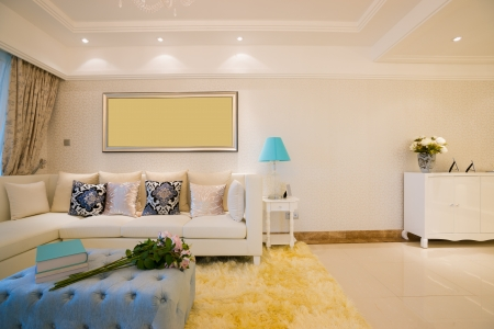 room wallpaper: the living room with modern style