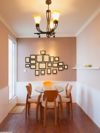 modern dining room Stock Photo - 20020375