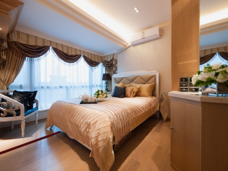 modern bedroom Stock Photo - 20020423