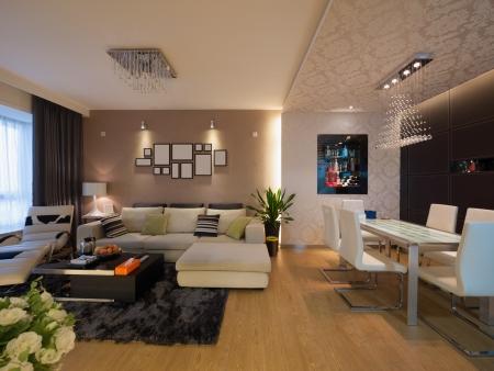 Moderne home interior Standard-Bild - 20020414