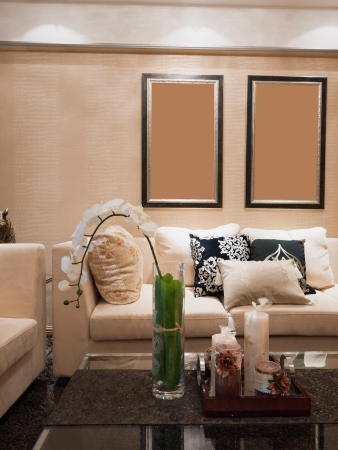 modern living room Stock Photo - 20020442