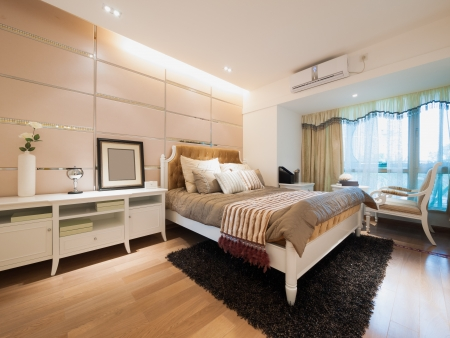 modern bedroom photo