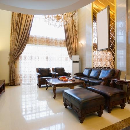 the luxury living room Stock Photo - 20023806