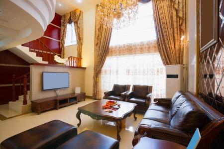 the luxury living room Stock Photo - 20024274