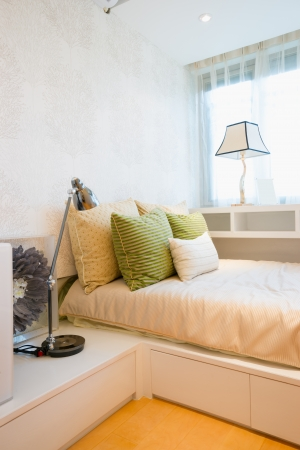 the bedroom with modern style Stock Photo