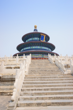 worshiped: The Temple of Heaven was built in 1420,it remain intact through the Ming and Qing dynasty,and It is included in the UNESCO world heritage list in 1998.In the past,the emperors worshiped their ancestors or prayed for good harvests at here.Now,the Temple of Editorial